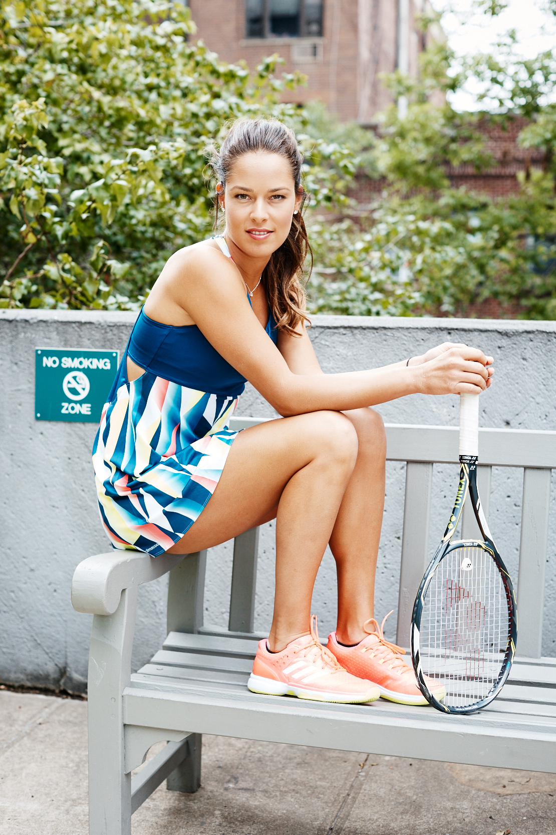 Ana Ivanovic Talks Beauty And Give Tennis Lessons Coveteur