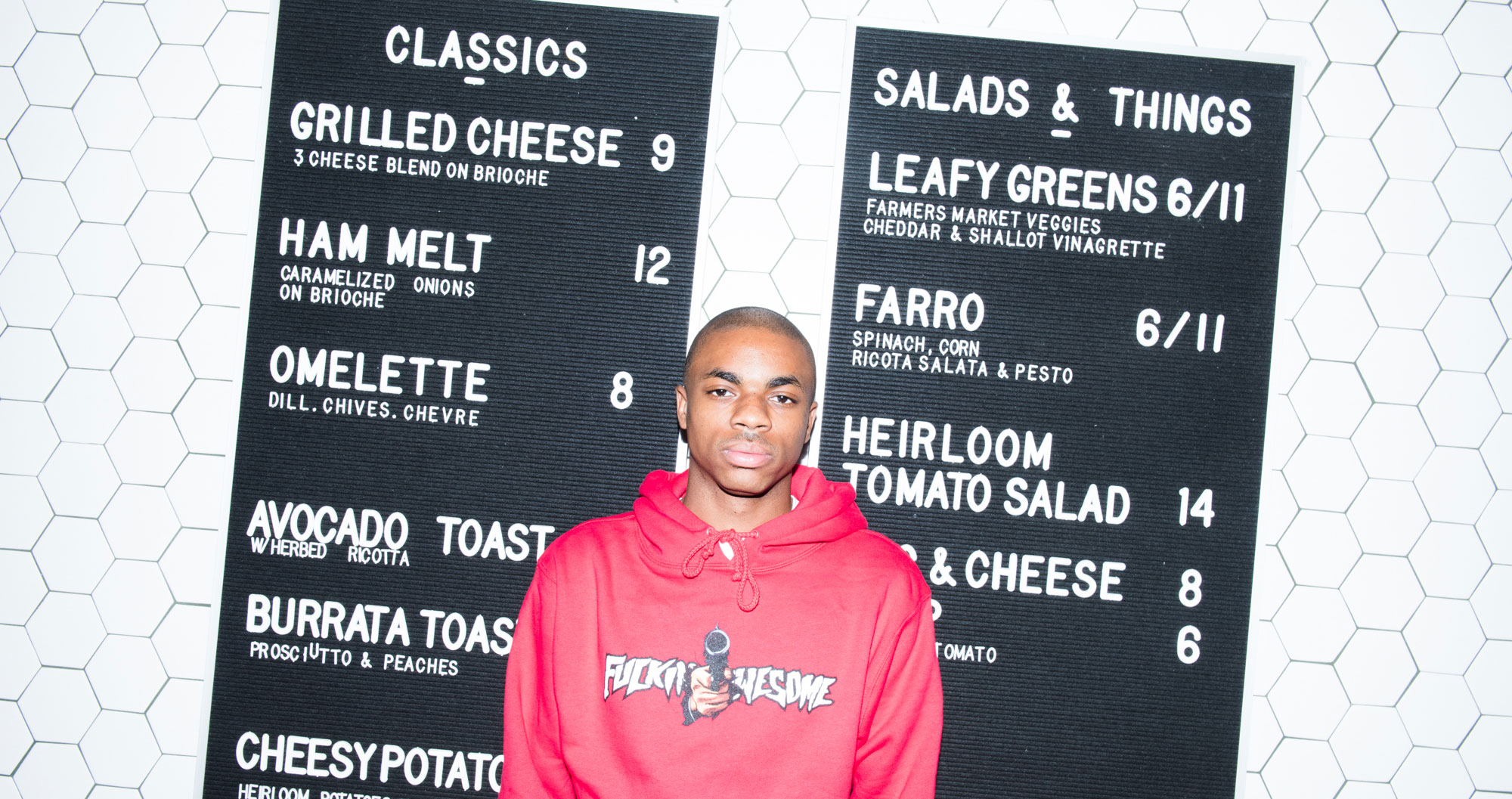Eating Granola with Rapper Vince Staples