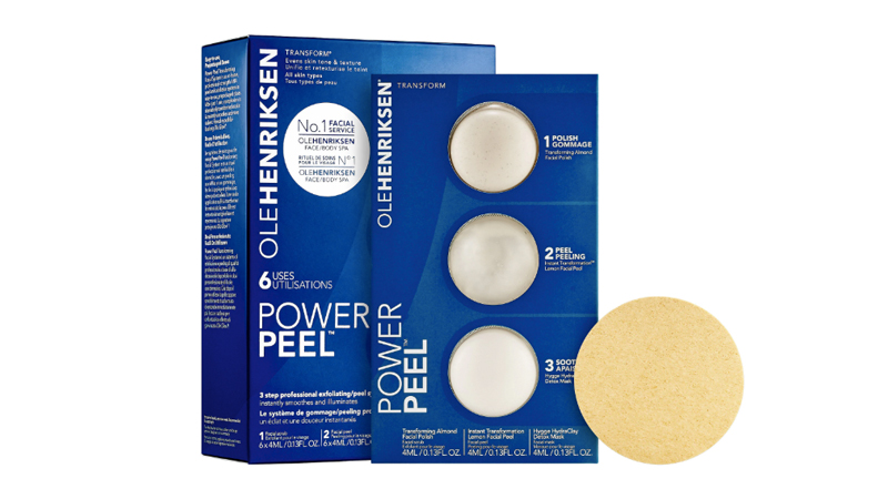 ole henriksen power peel transforming facial system