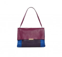 Proter textured leather shoulder bag