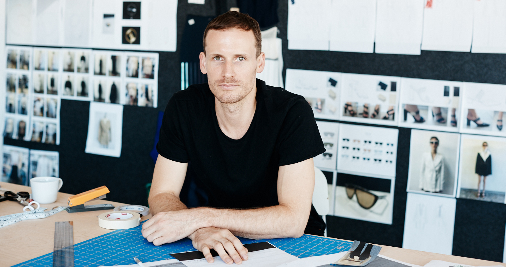 How Designer Dion Lee Preps For His NYFW Show
