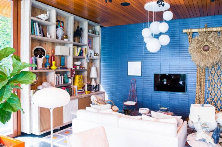 Inside Simon Doonan And Jonathan Adler's Weekend Home Coveteur Mesmerizing Jonathan Adler Living Room Minimalist
