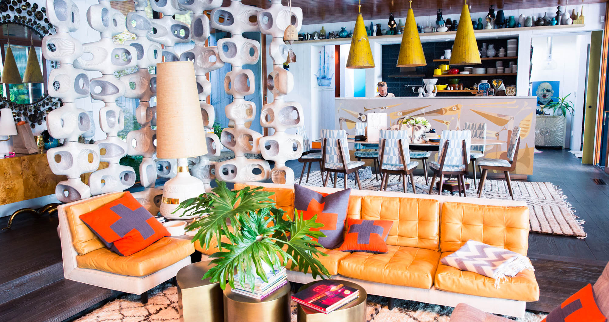 Simon Doonan and Jonathan Adler's Magical Weekend Home