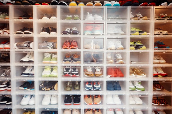 dbe589ff71b7 The Best Organized Sneaker Closets Featured By the Coveteur - Coveteur