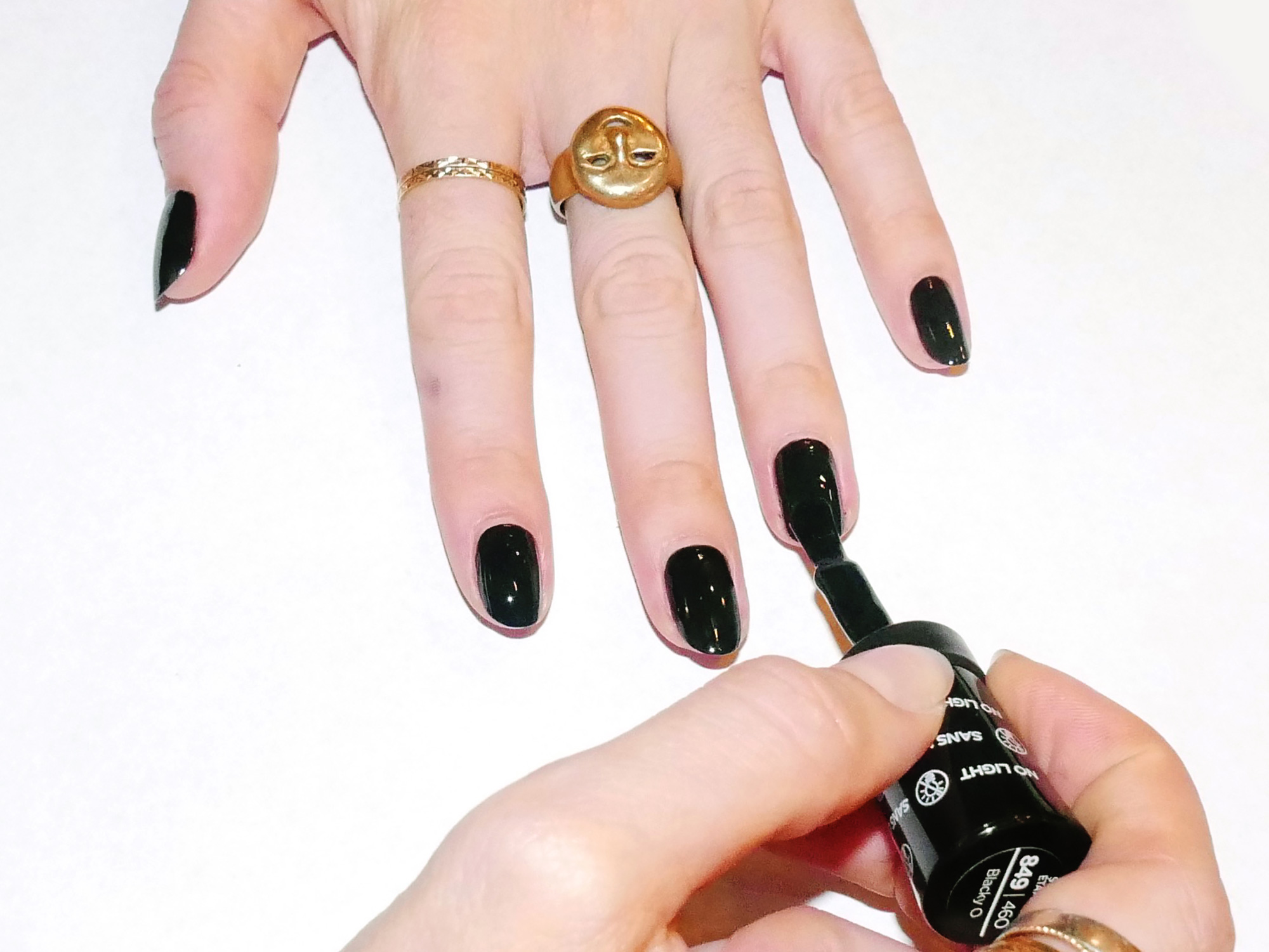 An Easy Step-by-Step Halloween Nail Art Tutorial - Coveteur