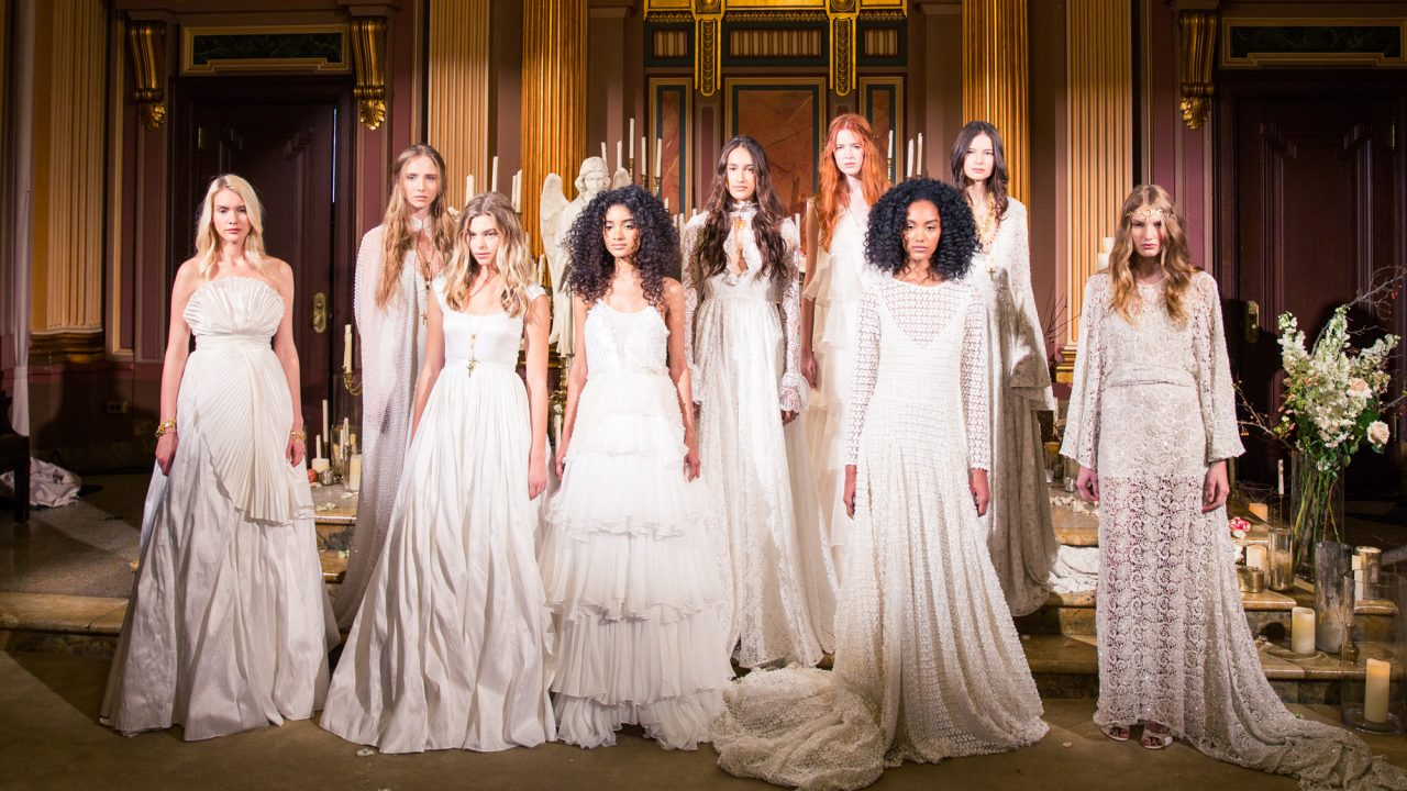 These Wedding Dresses Are Wearable Works Of Art