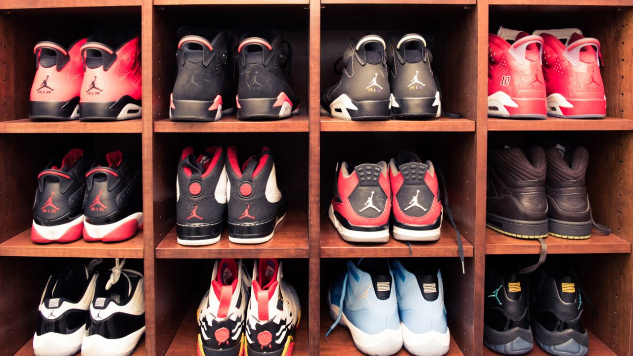The Most Impressive Sneaker Closets in Coveteur History