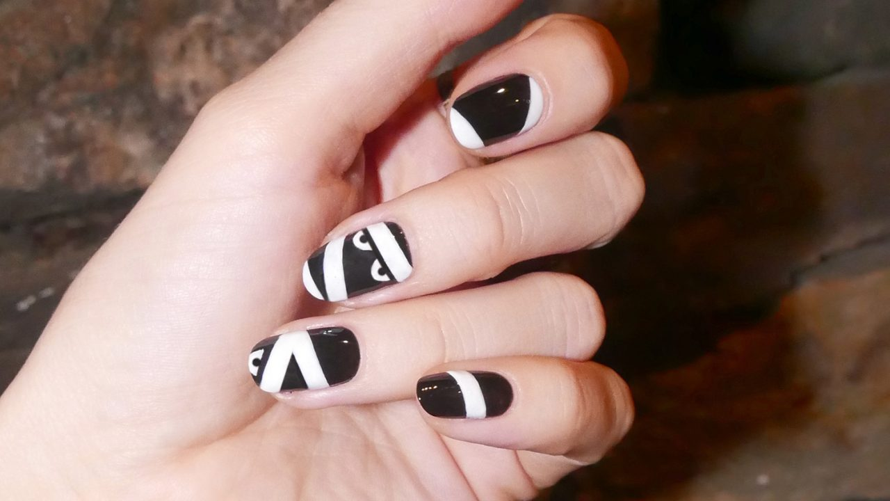 Newsletter - An Easy Step-by-Step Halloween Nail Art Tutorial - Coveteur