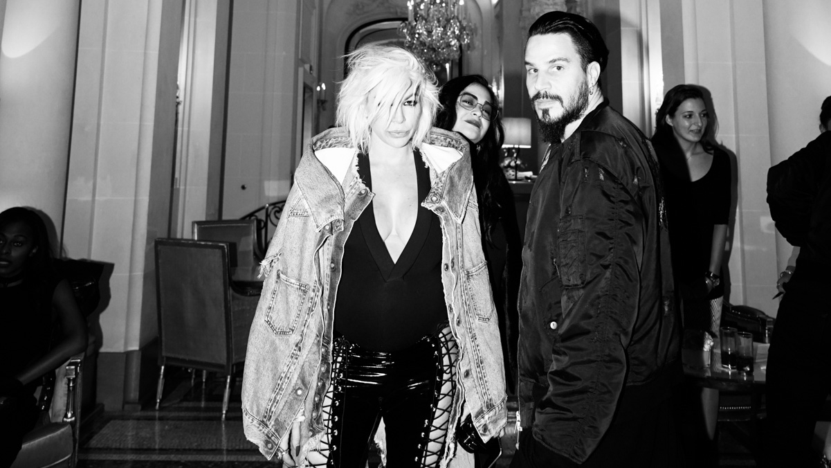 How Unravel's Ben Taverniti and Joyce Bonelli do PFW