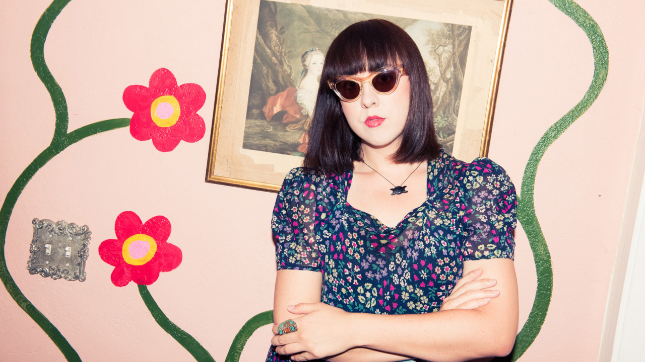 Vintage Dresses and Glitter-Adorned Shoes Reign Supreme in This Artist's Closet
