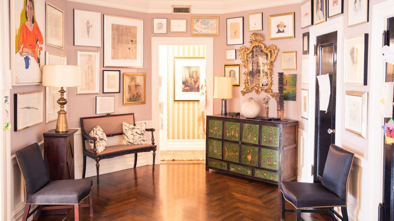 At Home with Andy & Kate Spade (& Their Art Collection)