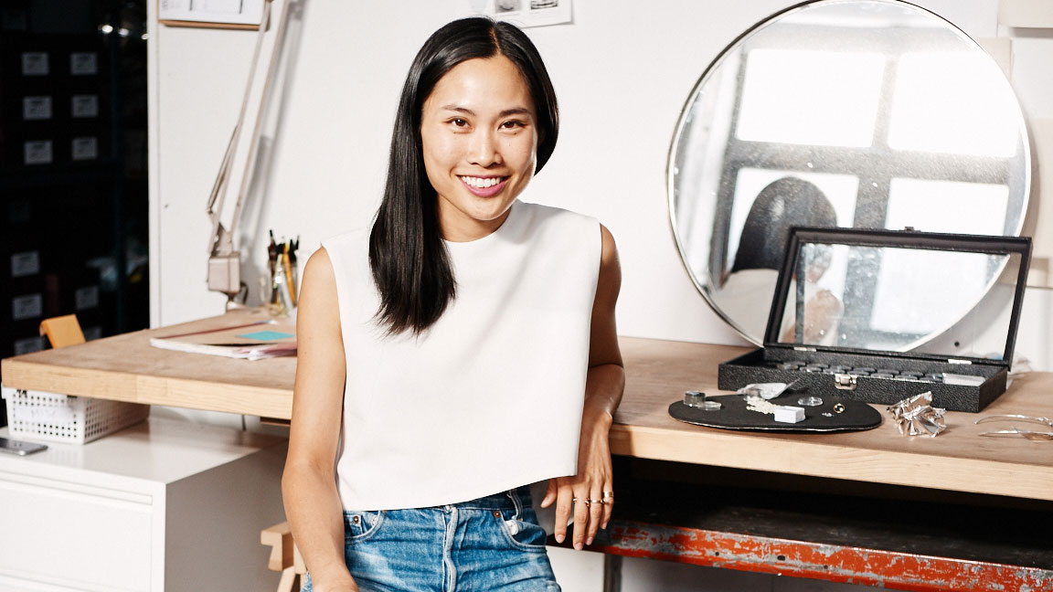 The Designer Behind Instagram's Favorite Jewelry Line