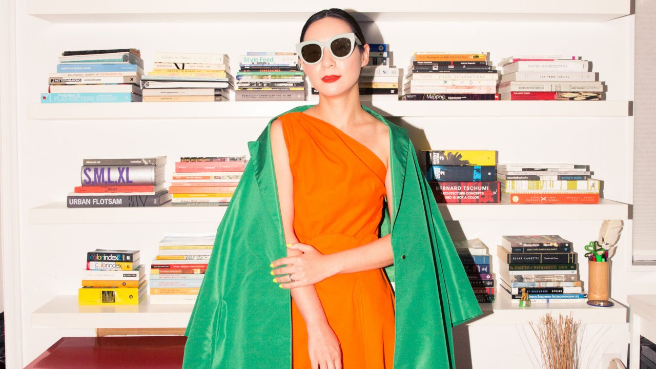 Architect Monling Lee's Closet Is Filled with the Most Color You'll See Today