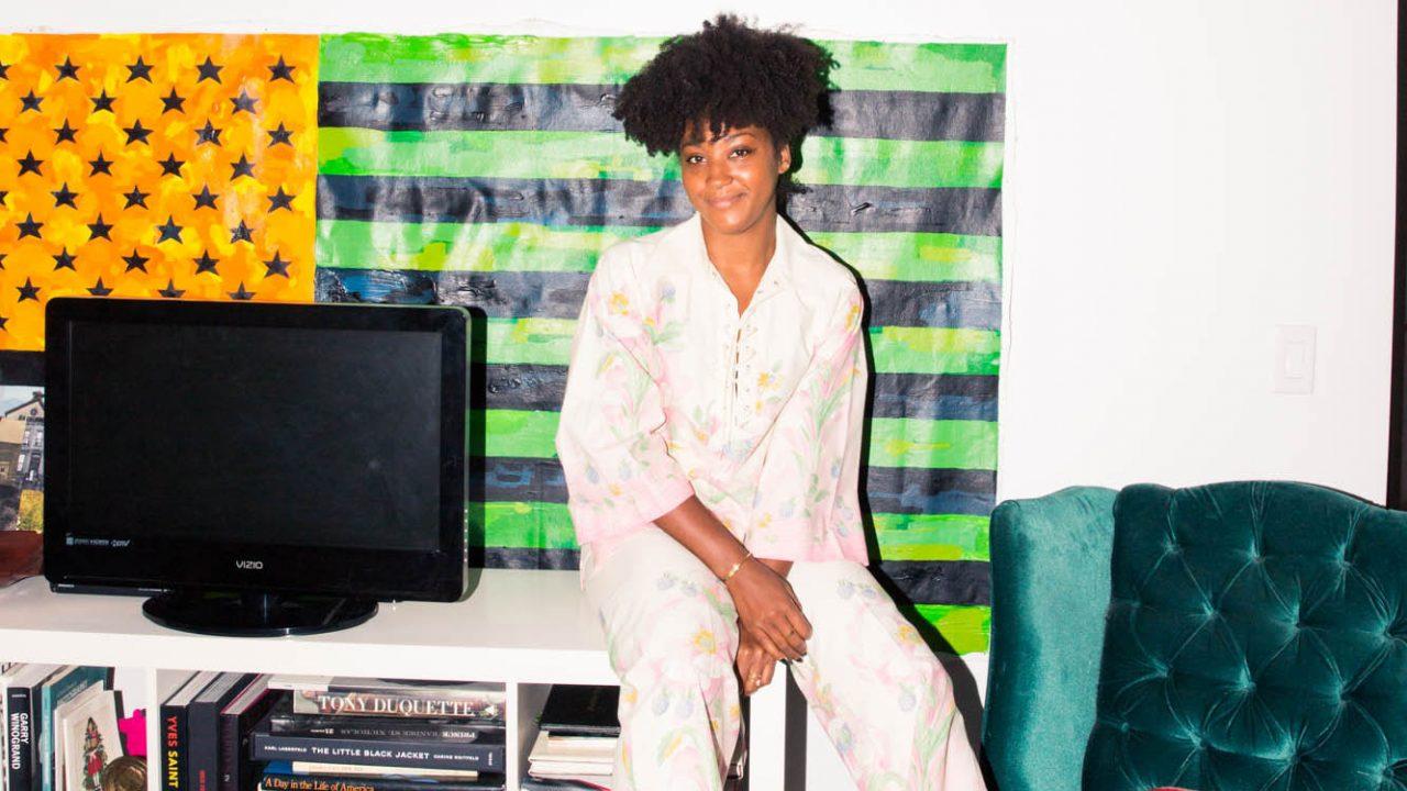 Behold: Solange Franklin's Vintage-Meets-Luxury Closet
