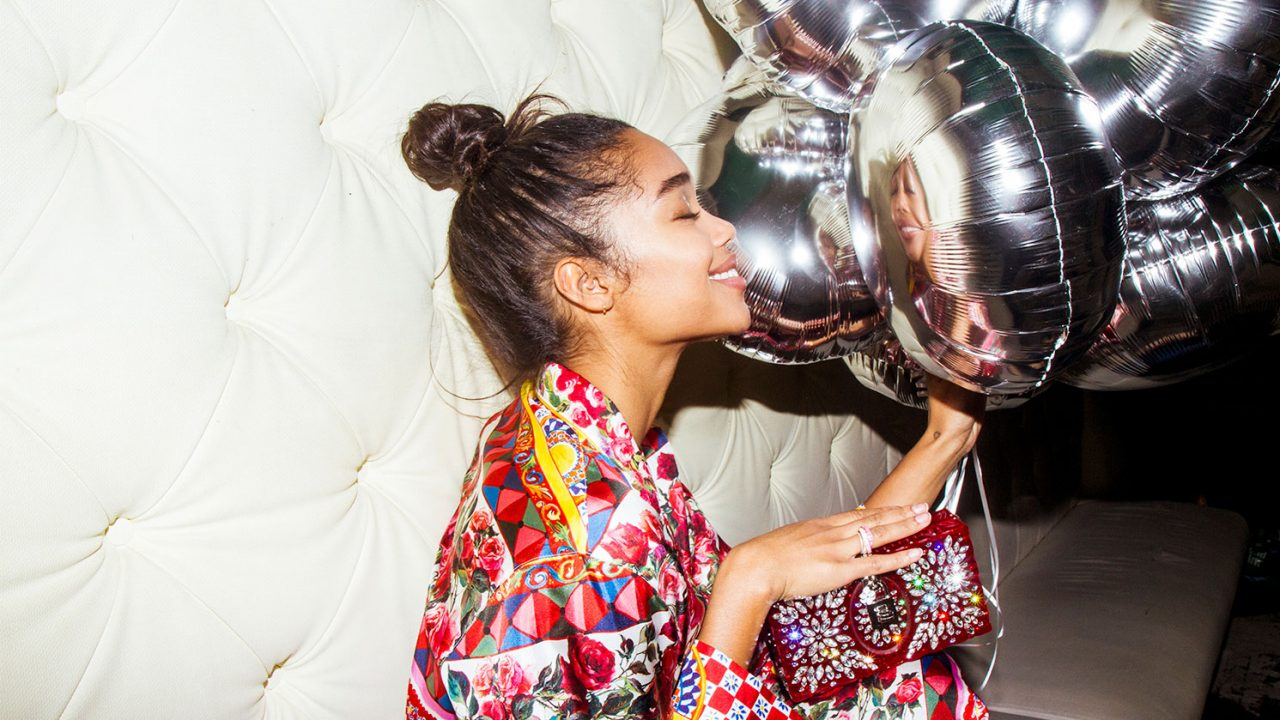 Power Party-Dressing with Spider-Man's Laura Harrier