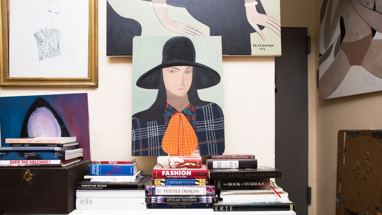 Kelly Beeman Makes Art Out of Fashion