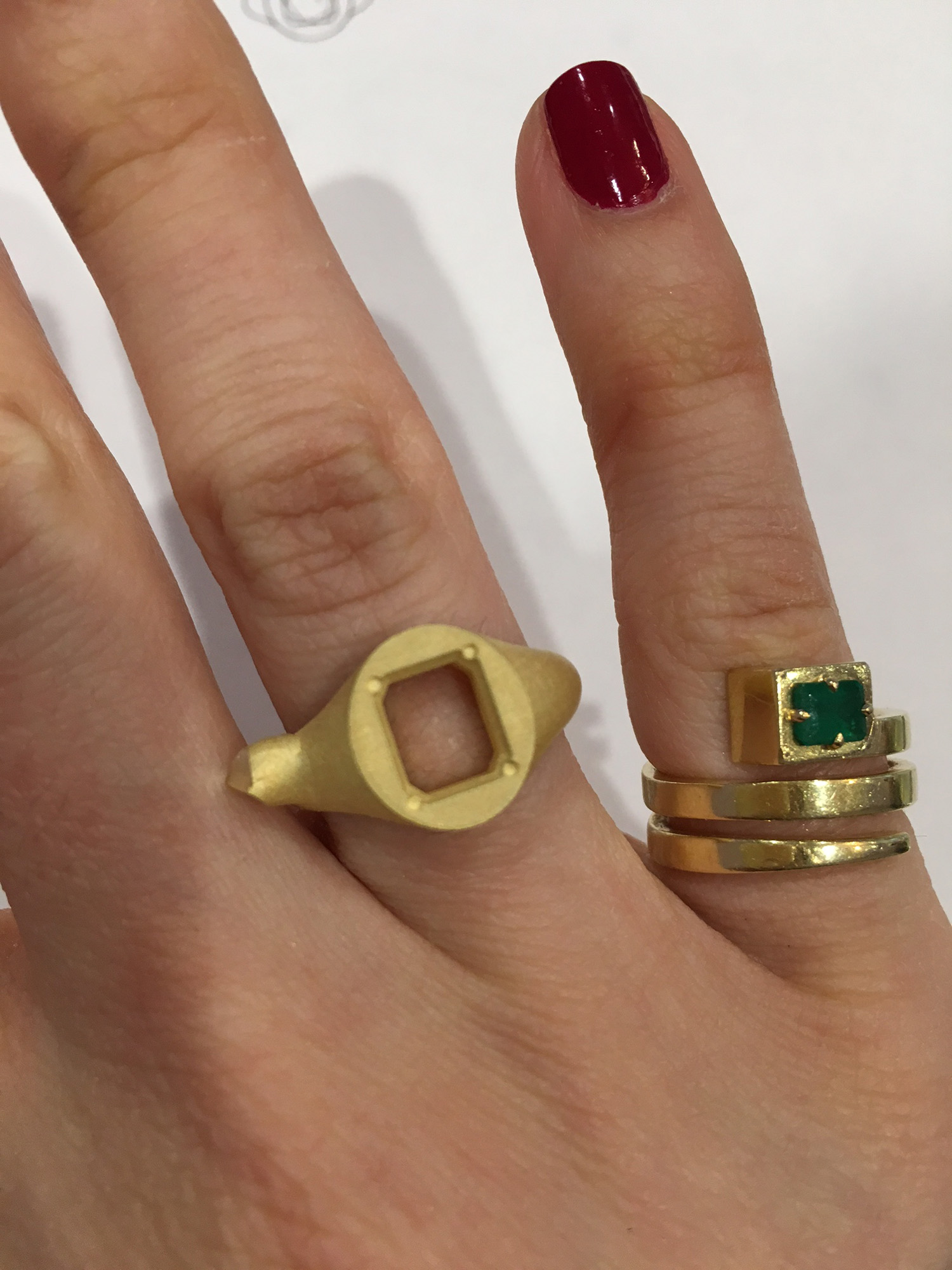 The Process of Redesigning an Engagement Ring Coveteur