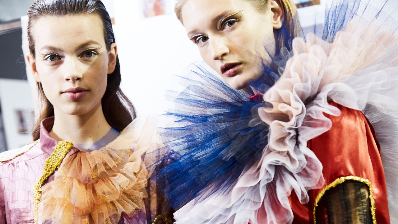 Viktor & Rolf Recycled Used Gowns for Their Couture Collection