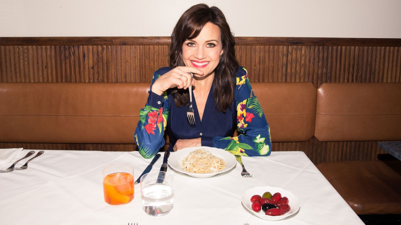 Carla Gugino Took Us on a Food Tour in New York City