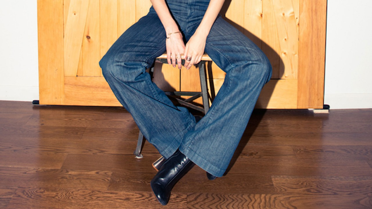 This Is the Trick to Wearing Wide-Leg Pants in the Winter