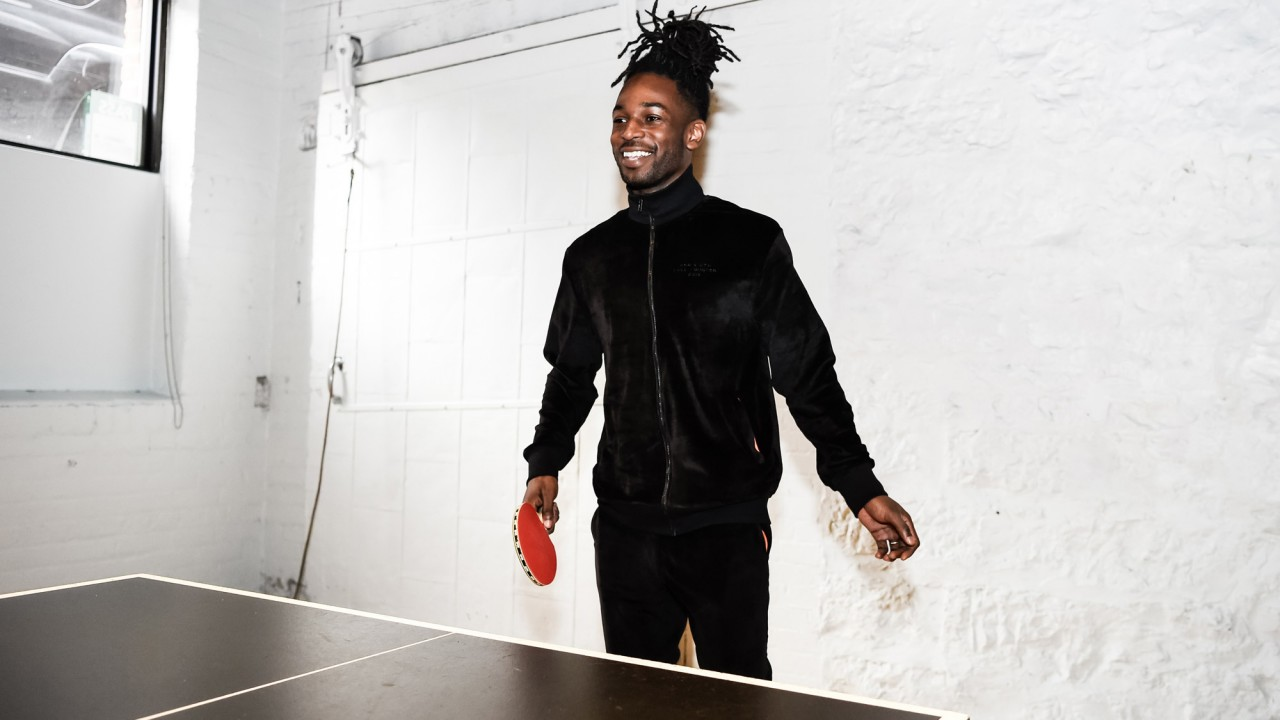 Playing Ping Pong with Jazz Cartier