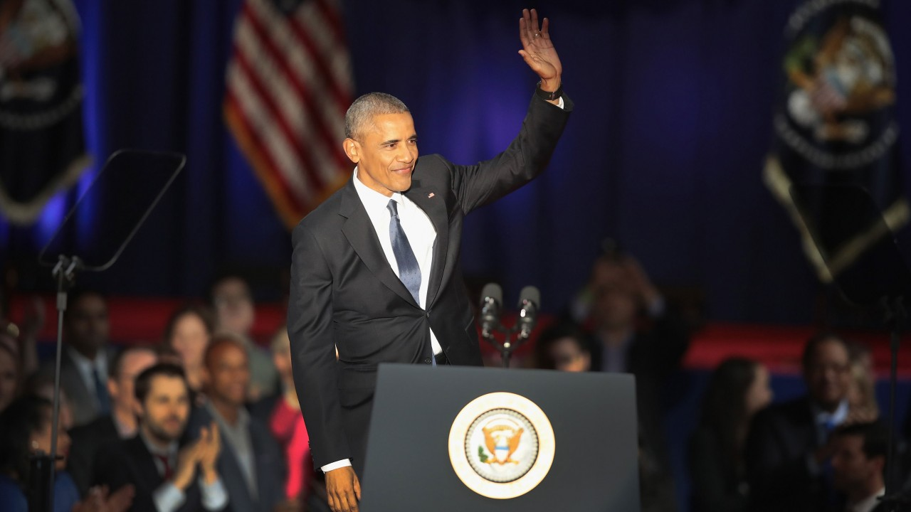 Why Obama's Farewell Speech Was the Perfect Parting Gift