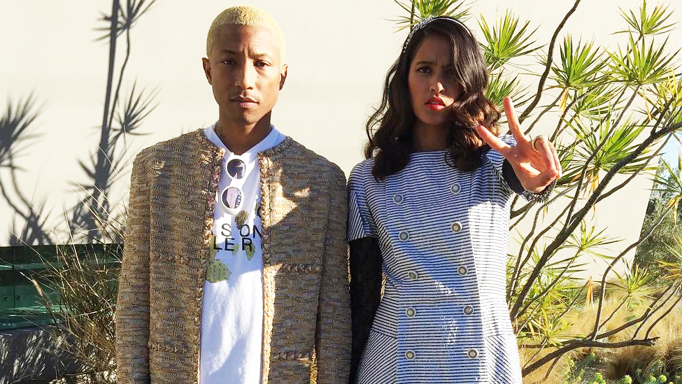 Pharrell and His Wife Just Welcomed Triplets