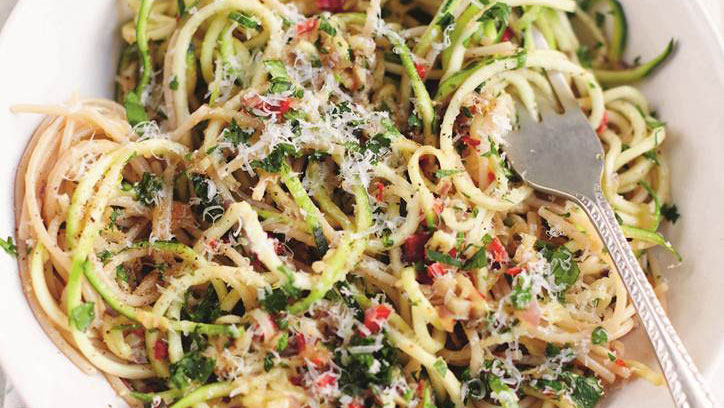 The Zucchini Noodle Recipe that Could Help You Get Glowy Skin