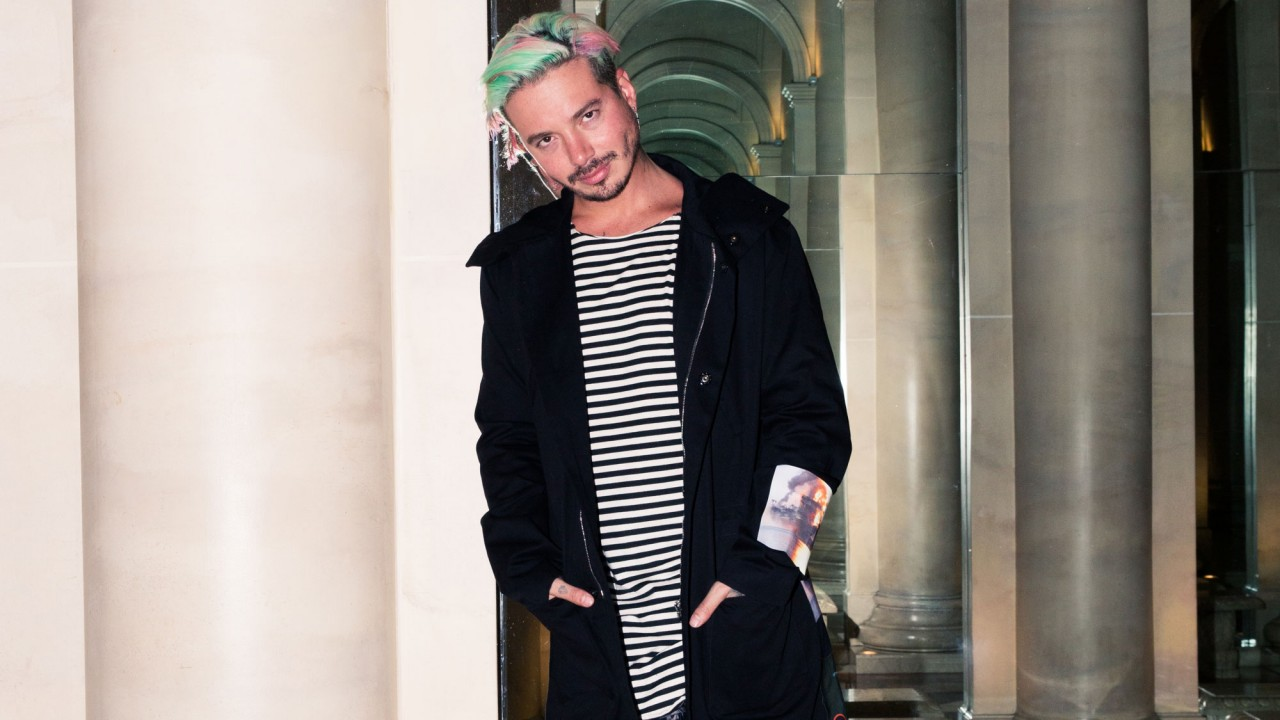Inside J Balvin's On-the-Road Closet