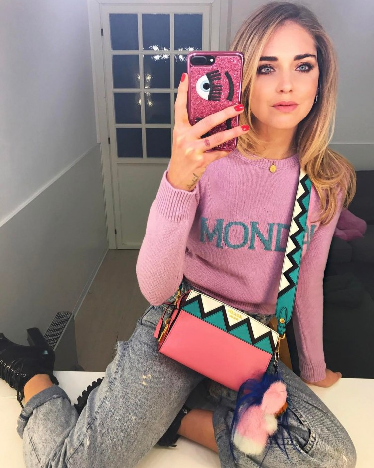 Alberta Ferrettis Days Of The Week Sweater Is Taking Over Instagram