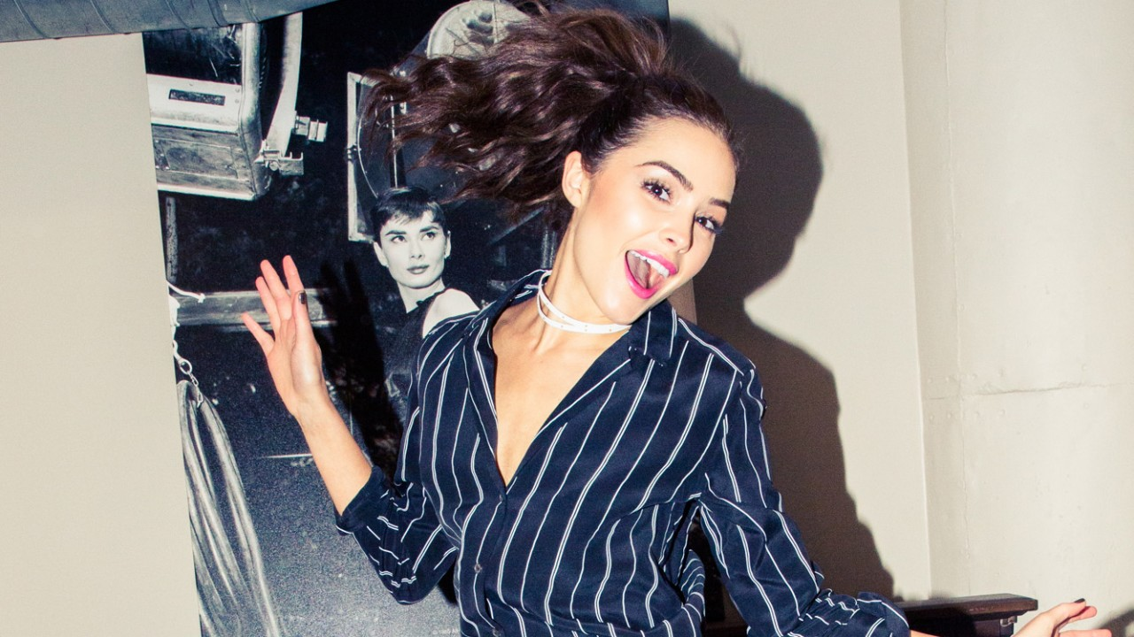 Olivia Culpo Has a Trick for Looking Awake When You're Really Tired