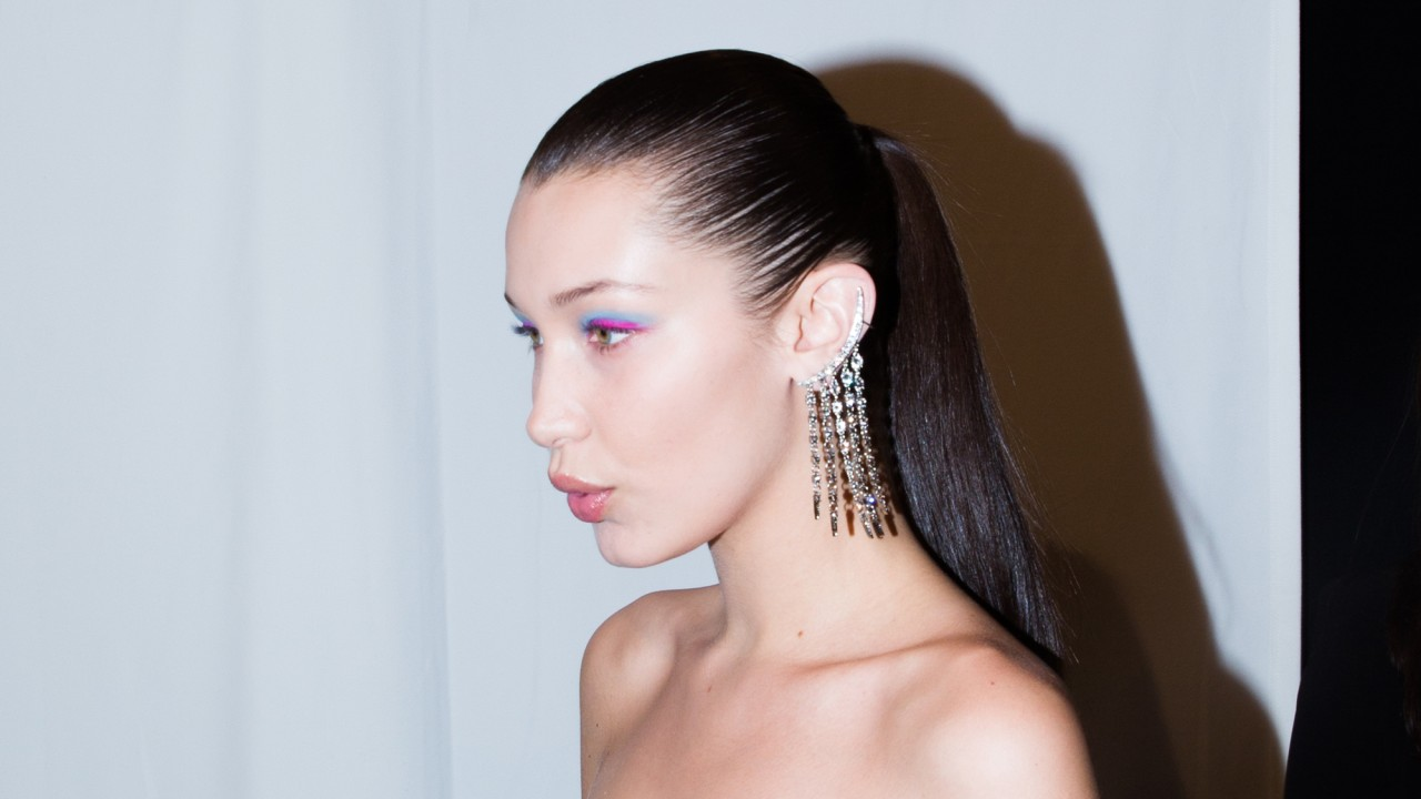 Why Oscar de la Renta's Rainbow Eye Makeup Was Absolutely Perfect