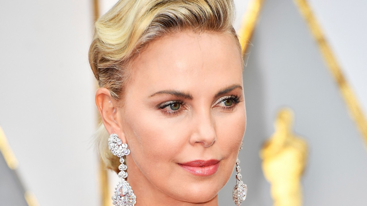 Holy Sh*t, Charlize Theron's Oscars Earrings Are Insane