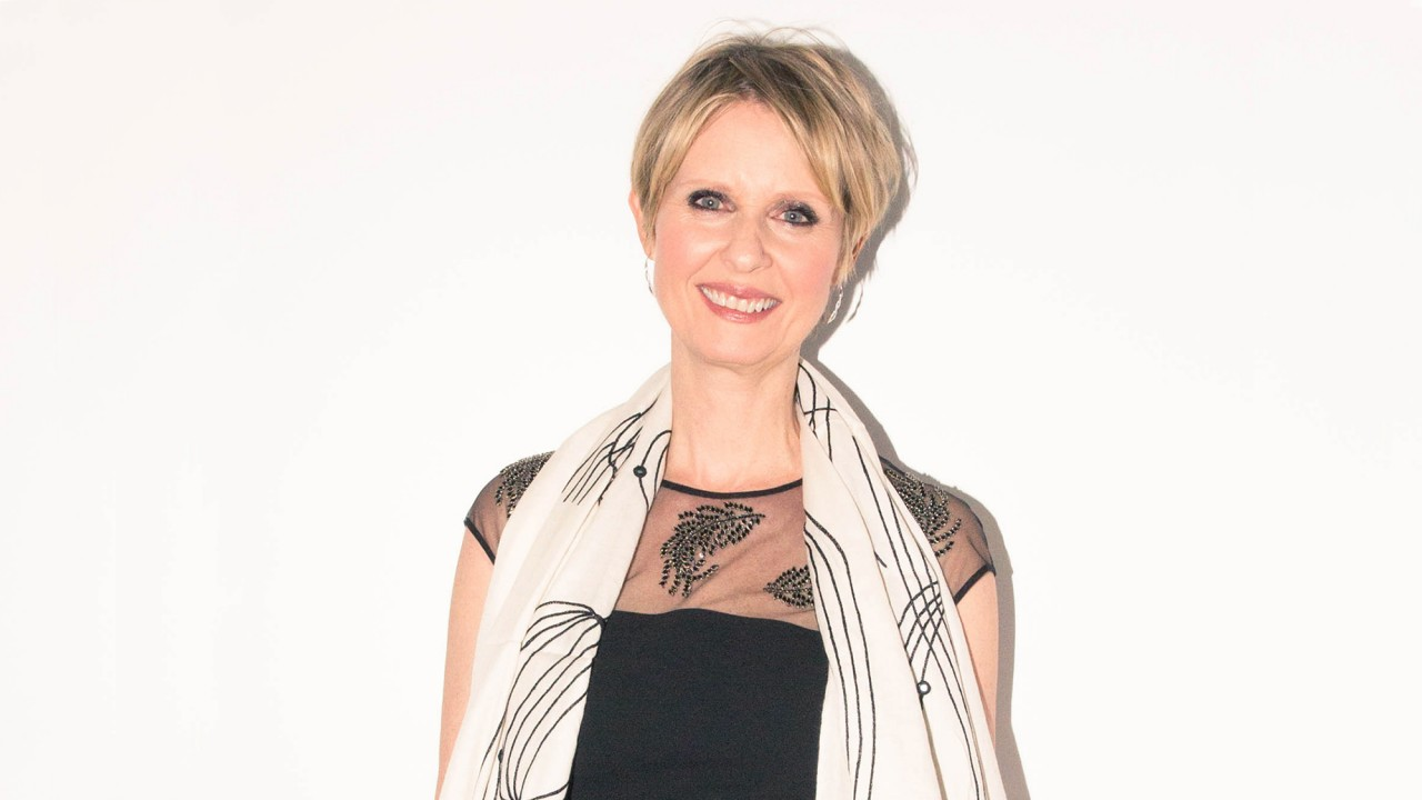 Why Cynthia Nixon Thinks Protesting Is So Important