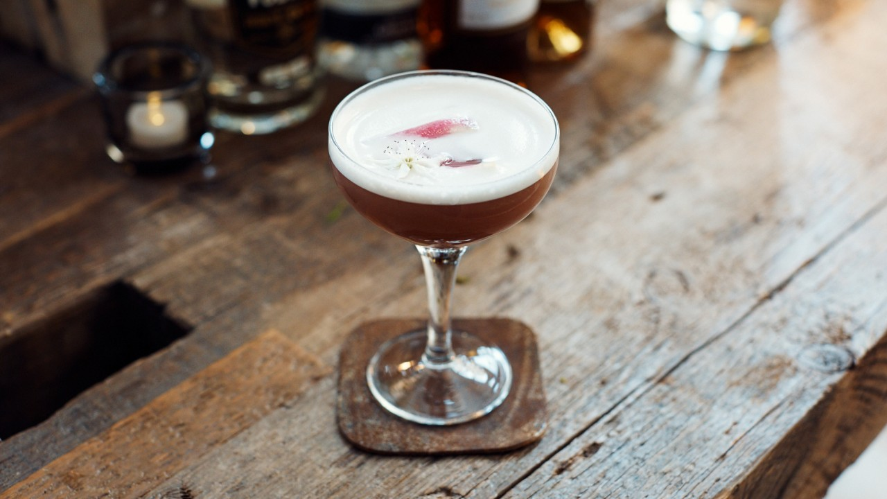 Turn Up This Weekend With This Fancy Take on a Whisky Sour