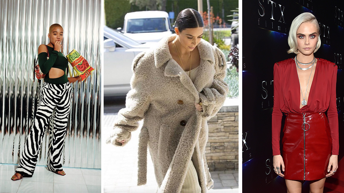 Kim Kardashian Is Dressed Like a Teddy Bear