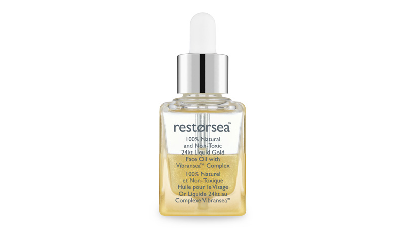 restorsea 24kt liquid gold face oil vibransea complex