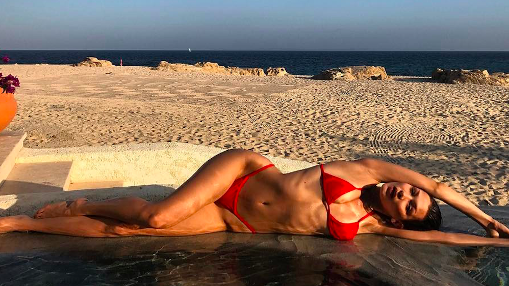 Bella Hadid Just Gave This Swimsuit Trend Her Stamp of Approval