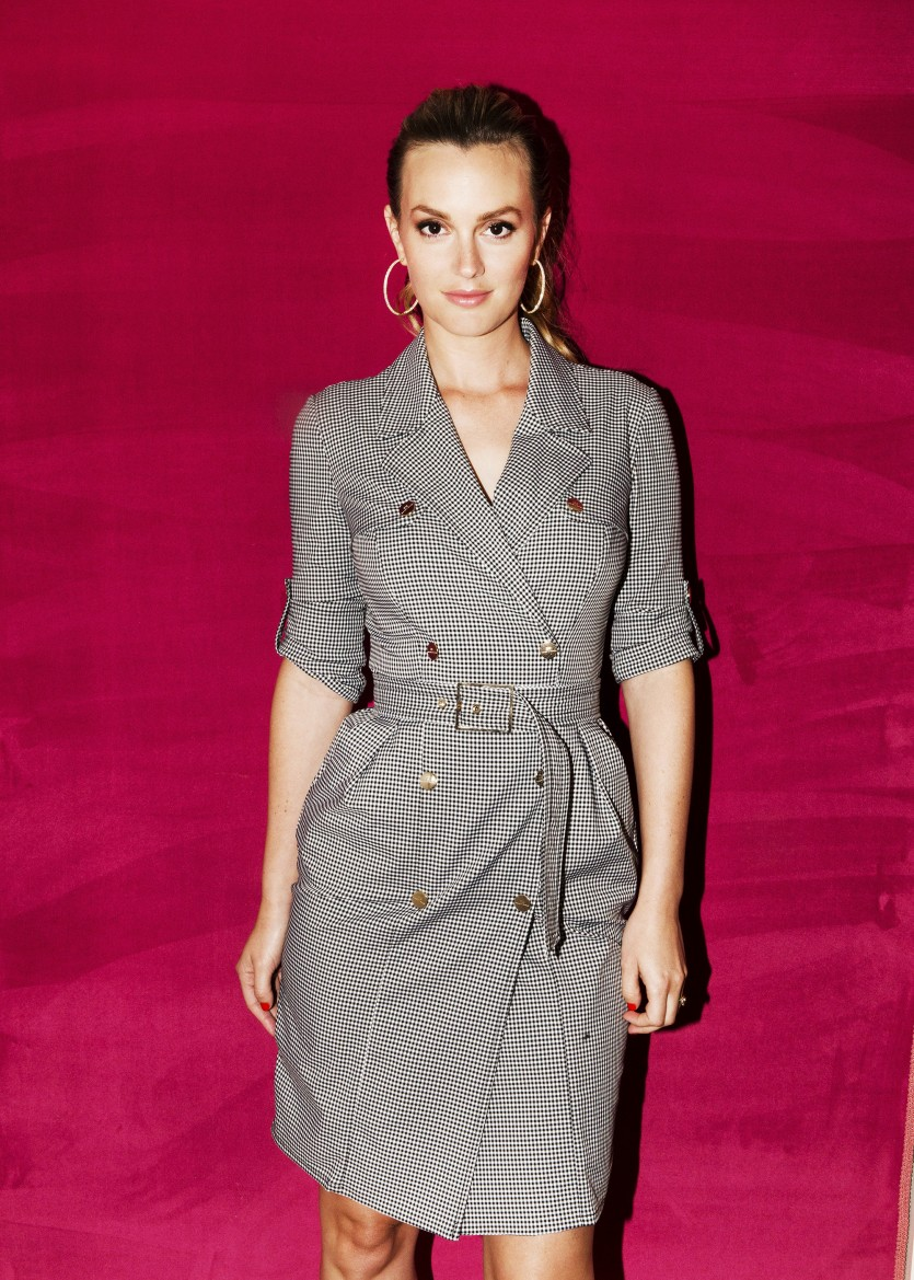 Leighton Meester On Aughts Fashion And Cleaning Out Her