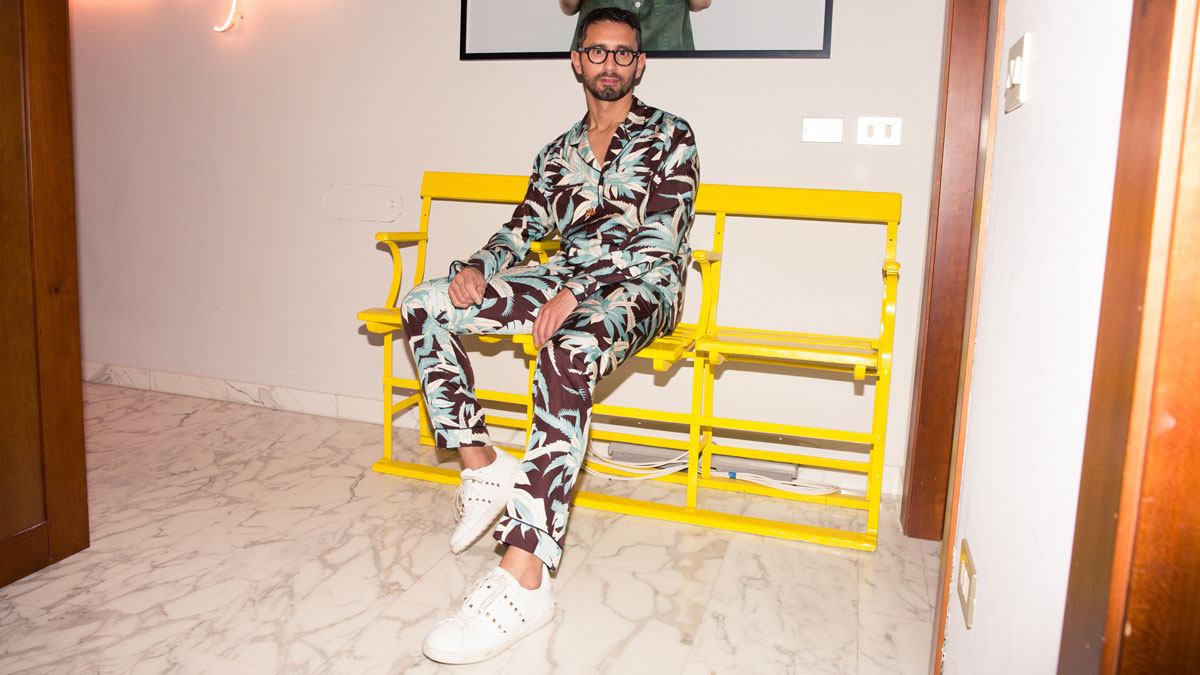 Simone Marchetti Likes Fashion, Not Style