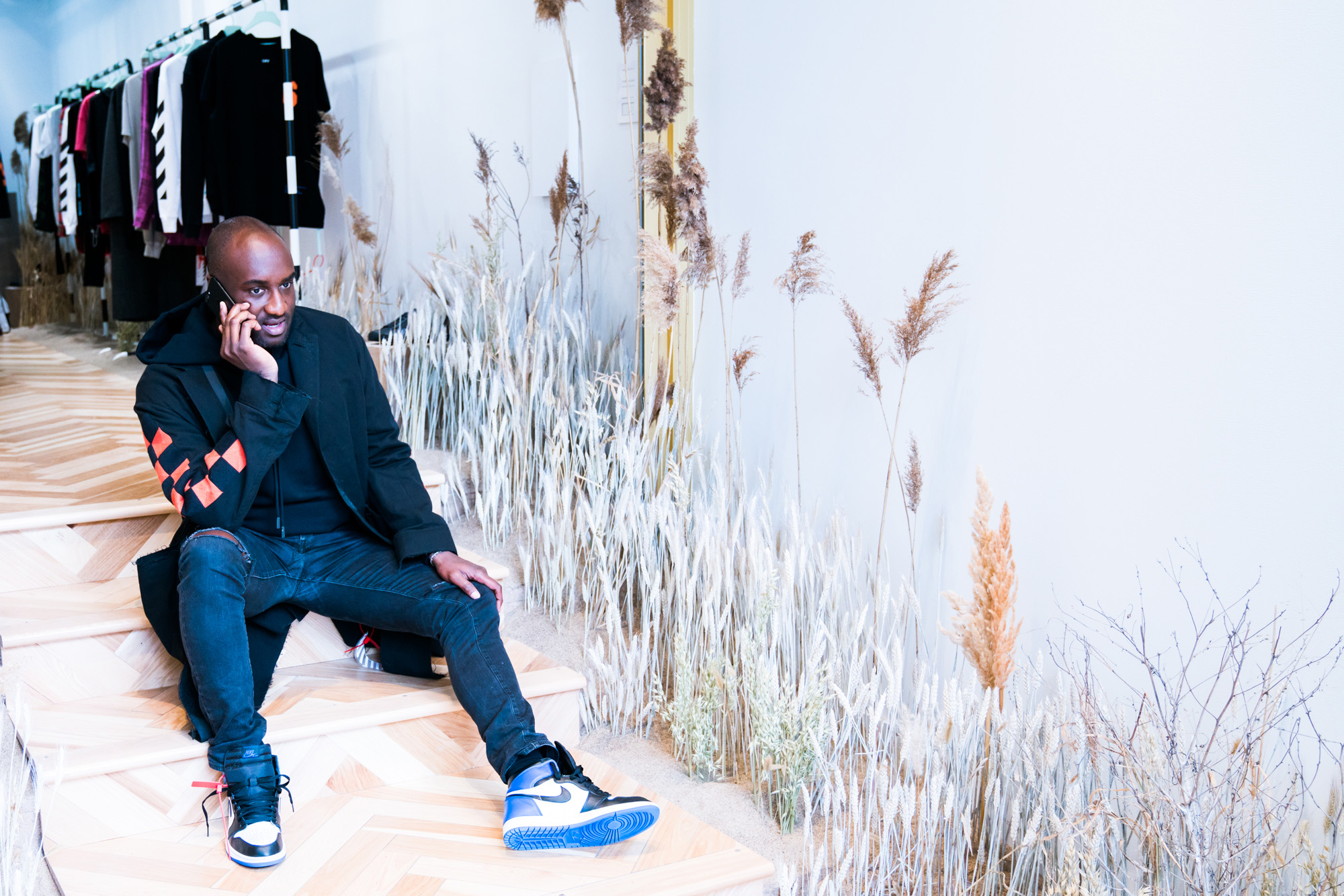 virgil abloh talks youth culture raf simons and more coveteur. Black Bedroom Furniture Sets. Home Design Ideas