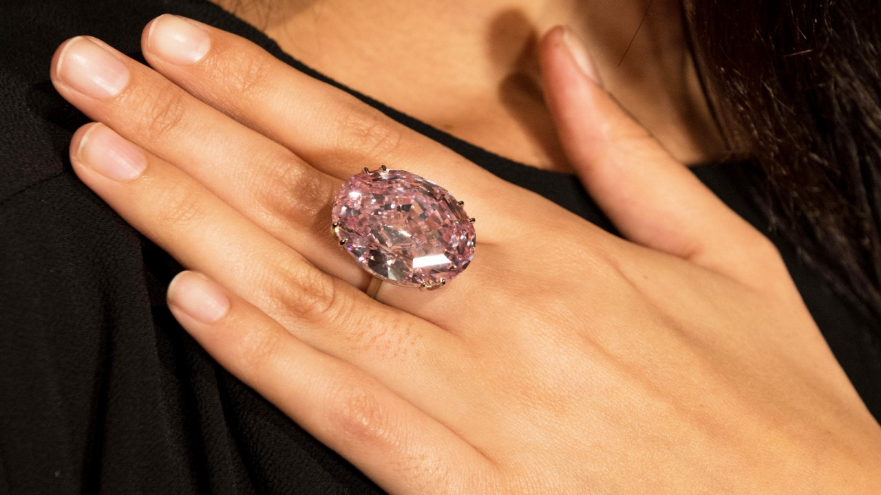 "This Rare 59.60 Carat ""Pink Star"" Diamond Sold for How Much?"