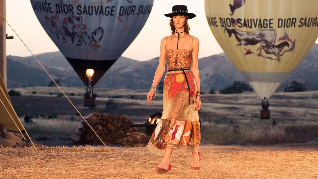 Dior's Cruise Show Was a Southwestern Dream