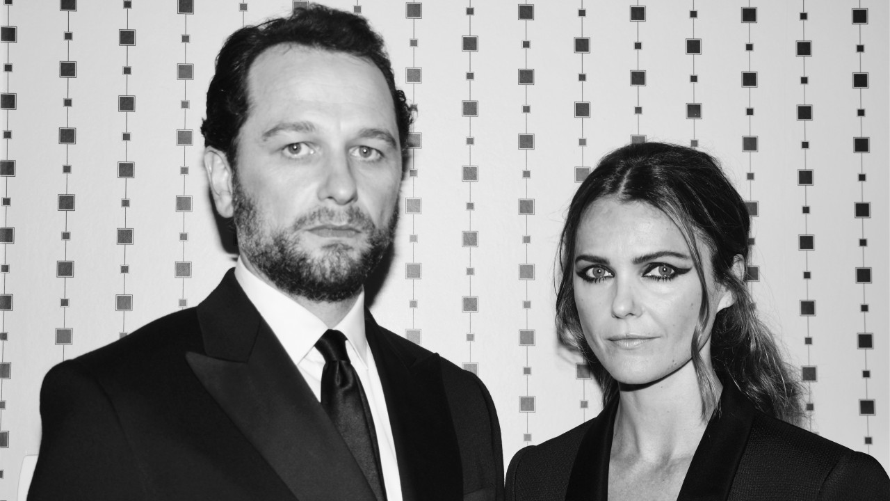 Keri Russell and Mathew Rhys Almost Wore Matching Eyeliner to the Met Gala
