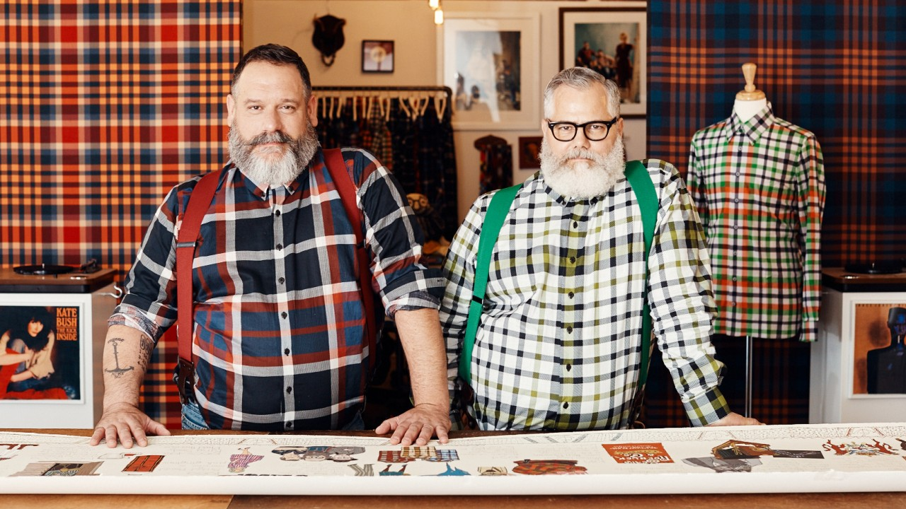 Meet the Twinning Lumberjacks of Fashion