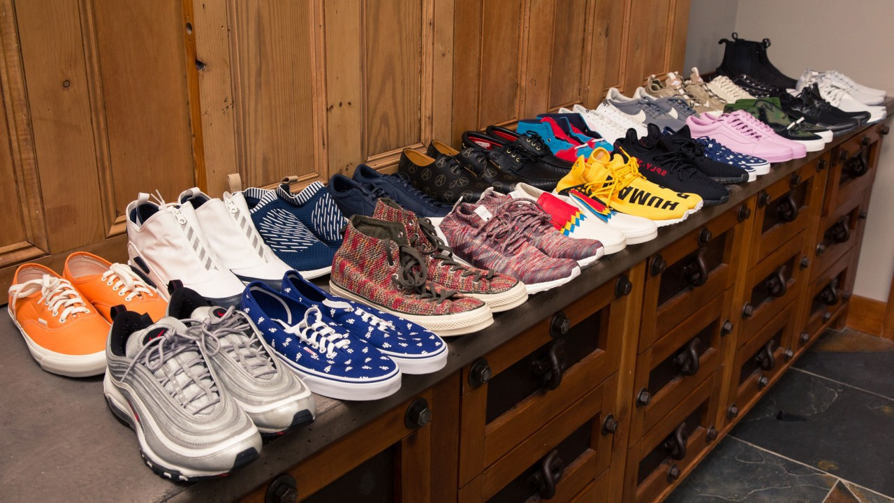This Fashion Executive Has More Shoes Than He Can Count