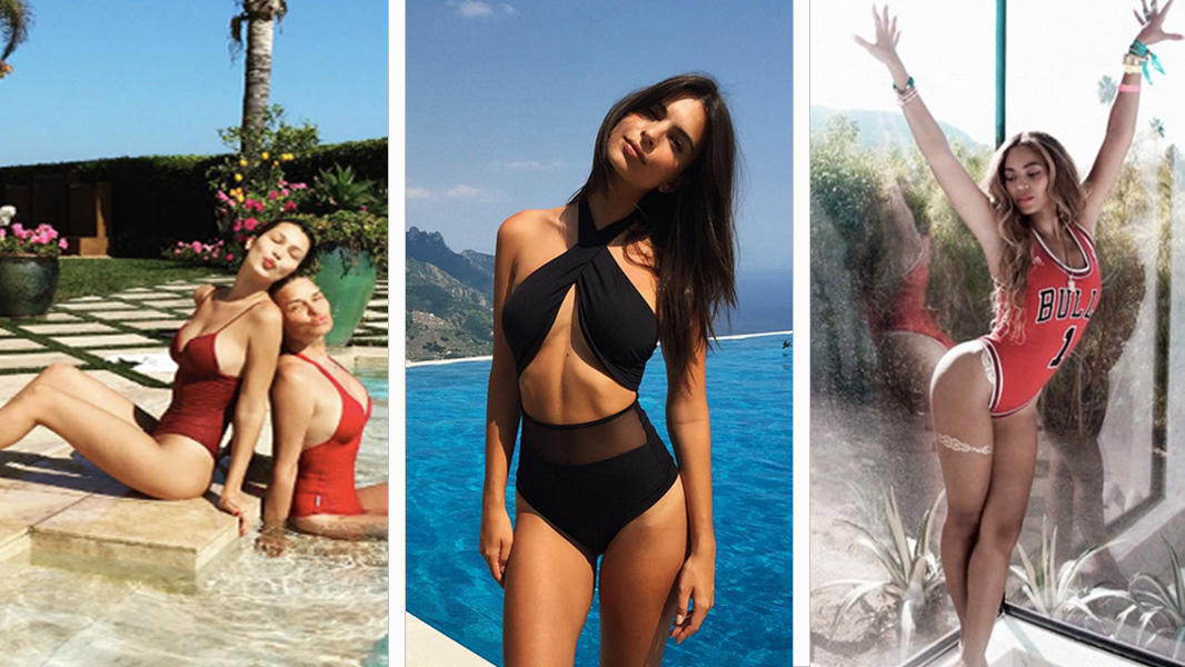These Are The Biggest One-Piece Bathing Suit Trends of 2017