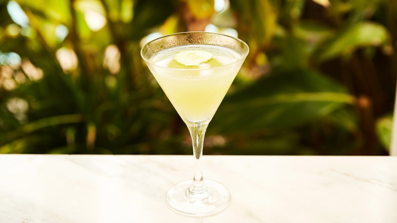 A Gin Cucumber Cocktail For Sipping After Work