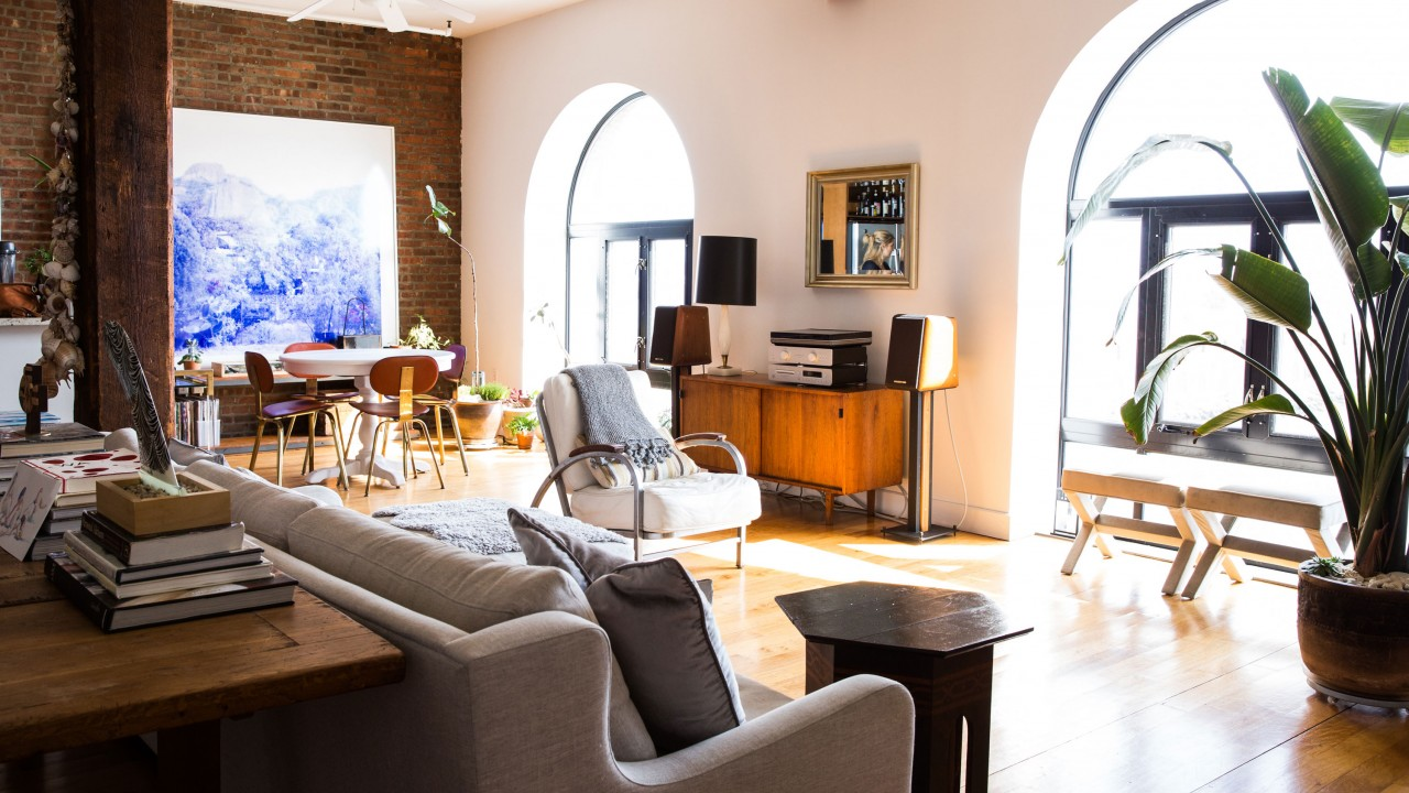 This Beachy Brooklyn Loft Is Giving Us Major Redesign Inspiration