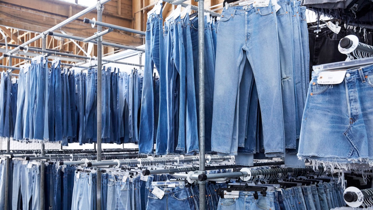 A Look Inside RE/DONE's Denim Warehouse